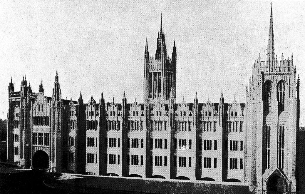 Aberdeen, Marischal College (source: public domain)