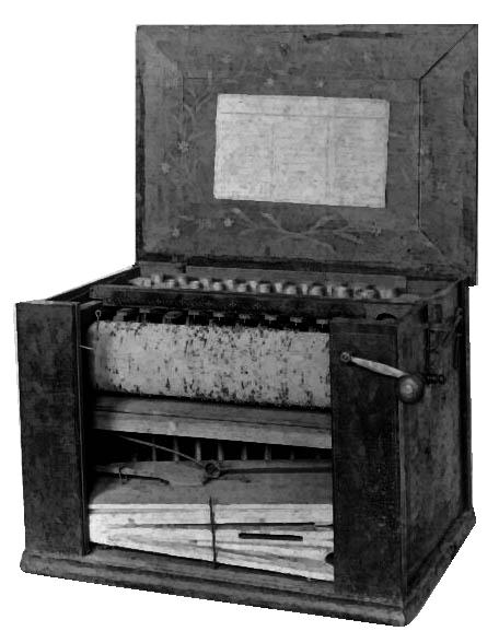1846 serinette instrument (Credit: Ch Denis)