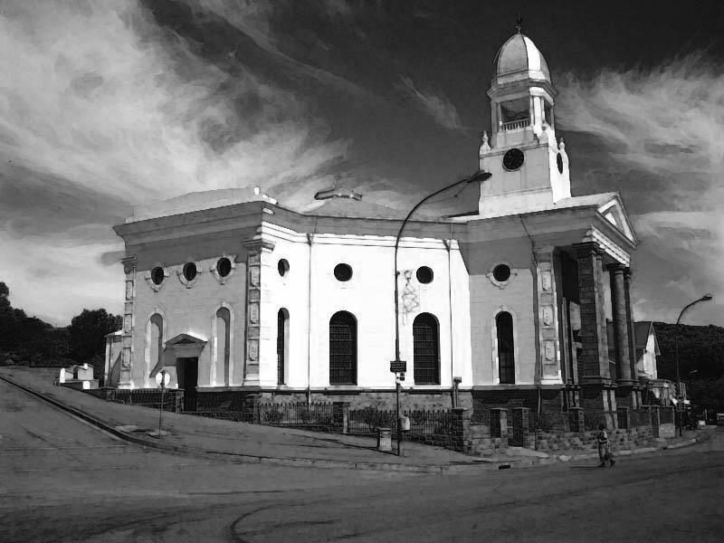 1879 Dutch reformed church, Colesburg (credit: Andrew Hall)