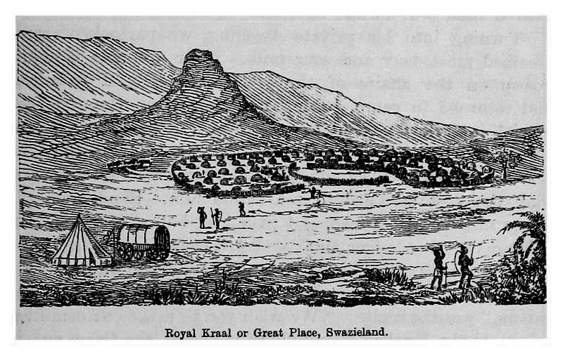 1891 Swaziland (credit: INGRAM, Joseph Forsyth)