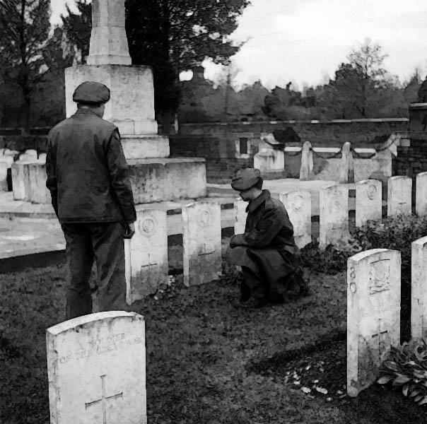 1914 WWI graves south africa (credit:Carpenter (Sgt), No 5 Army Film & Photographic Unit)