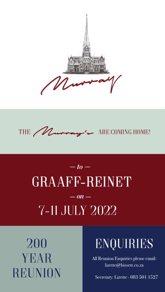 Murray Reunion Flyer